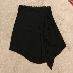 Bebe Asymmetrical black skirt